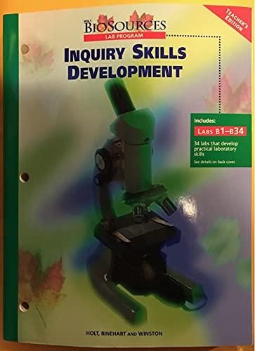 9780030514029: Inquiry Skills Development