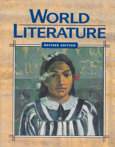 World Literature: Rinehart, and Winston,