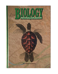 Holt Biology: Principles & Explorations: Student Edition: RINEHART AND WINSTON