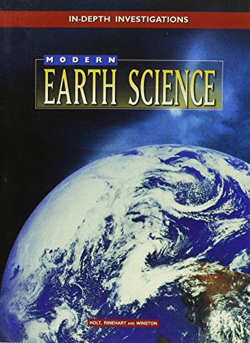 9780030514388: In Depth Investigations: Modern Earth Science