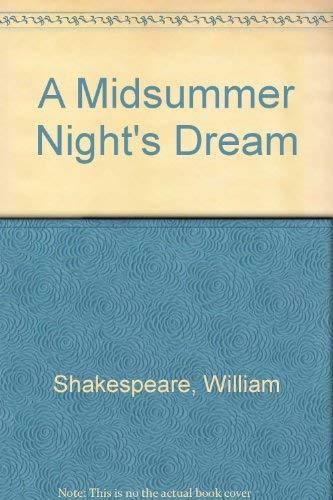 9780030514999: A Midsummer Night's Dream