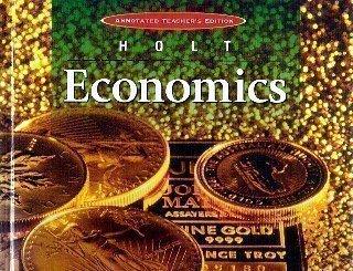 9780030516382: Holt, Economics Teacher Edition, 1999 ISBN: 0030516382