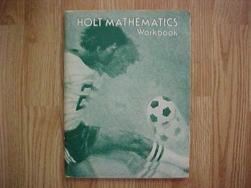 9780030516412: Holt Mathematics Workbook