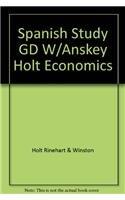 9780030516924: Spanish Study GD W/Anskey Holt Economics
