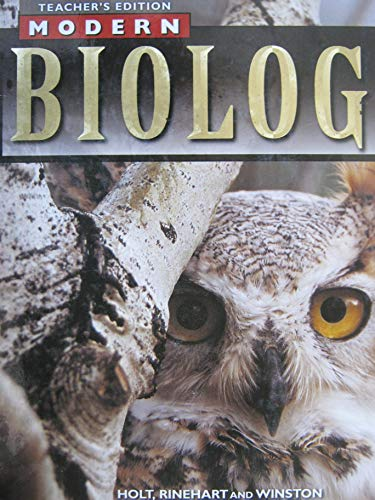 9780030517570: Modern Biology, Teacher's Edition
