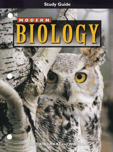 9780030517587: Modern Biology, Study Guide