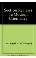 9780030517976: Modern Chemistry Section Reviews Teacher Edition