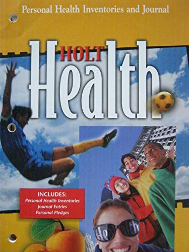 9780030518928: Personal  Health Inventories And Journal  Holt Health