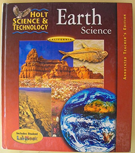 9780030519543: Holt Science and Technology: Earth Science, Annotated Teacher's Edition