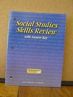 McDougal Littell Advanced Placement: Social Studies Skills Review with AnswerKey: HOLT, RINEHART ...