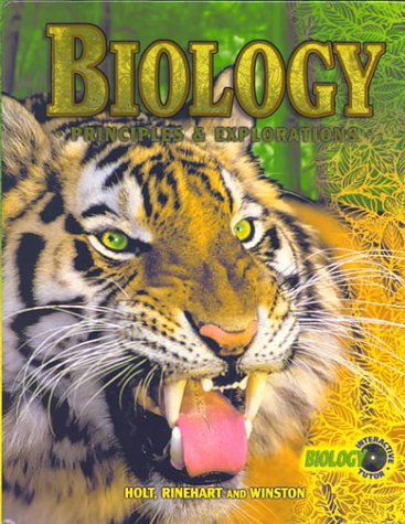 9780030519994: Holt Biology: Principles & Explorations: Student Edition Grades 9-12 2001