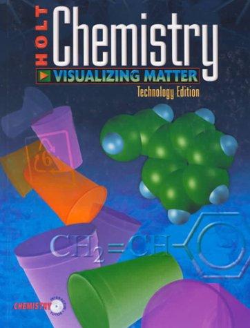 9780030520020: Chemistry: Visualizing Matter, Technology Edition