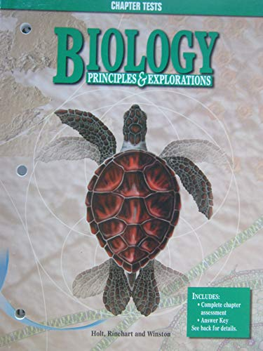 9780030520488: Biology Principles & Explorations Chapter Tests