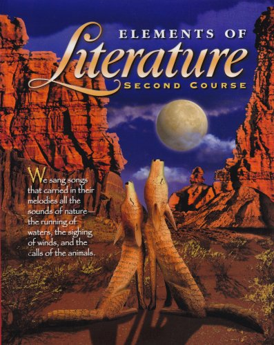 9780030520594: Holt Elements of Literature, Second Course