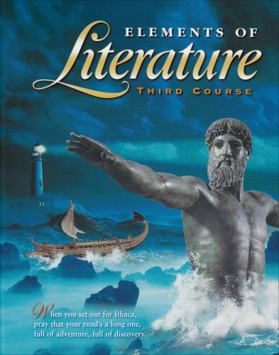 9780030520624: Holt Elements of Literature: Student Edition, Third Course, Grade 9, 2000