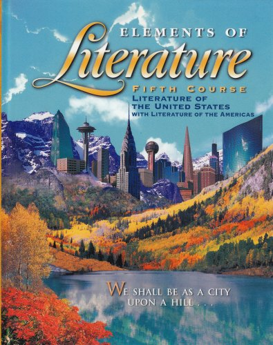 Elements of Literature: HOLT, RINEHART AND