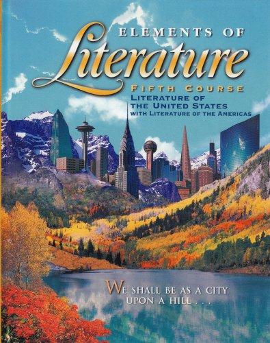 Elements Of Literature 5th Course 11th Grade