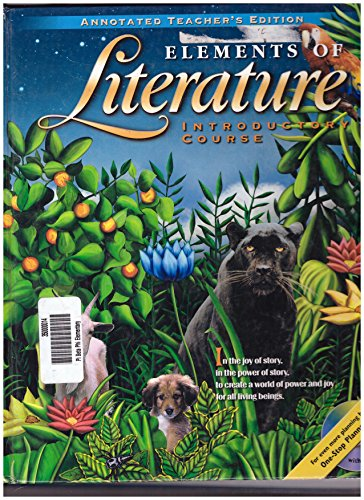 9780030521089: Elements of Literature - Introductory Course
