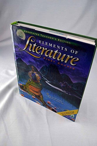 9780030521096 elements of literature first course annotated 9780030521096 elements of literature first course annotated teachers edition fandeluxe Image collections