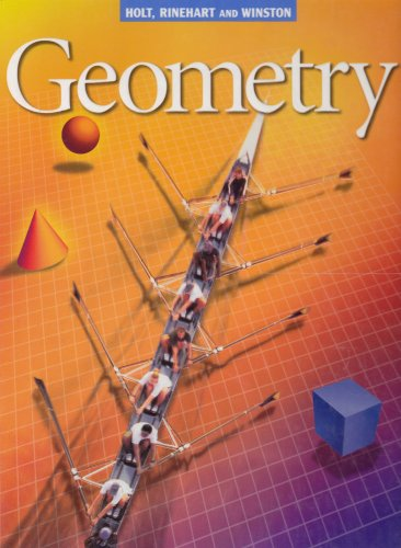 9780030522192: Holt Geometry: Student Edition Geometry 2001