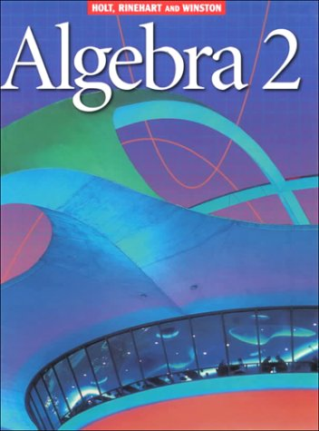 9780030522239: Holt Algebra 2: Student Edition Algebra 2 2001