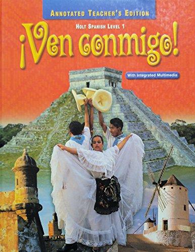 9780030522994: Ven Conmigo! Level 1, Teacher's Edition