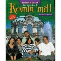 9780030523137: Komm mit! Holt German Level 3 Teacher's Edition