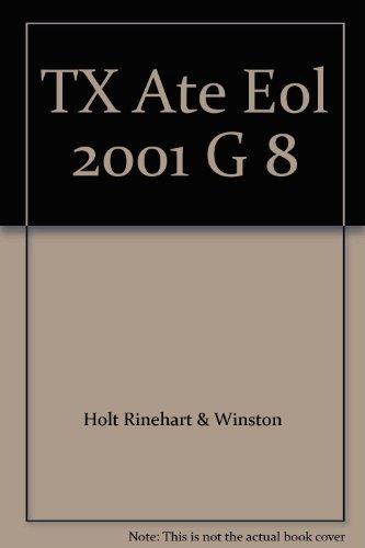 9780030523182: TX Ate Eol 2001 G 8
