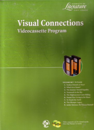 Visual Connections Videocassette Program (Elements of Literature