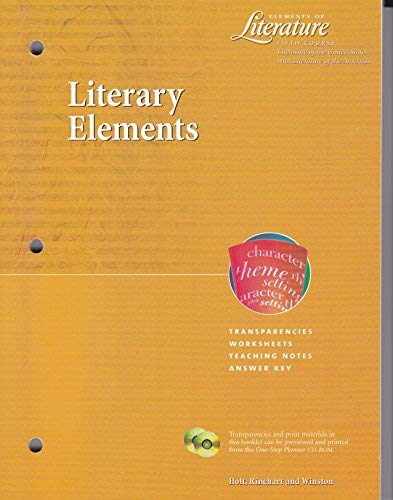 9780030523632: Elements of Literature Fifth Course (Grade 11) Grammar and Language Links