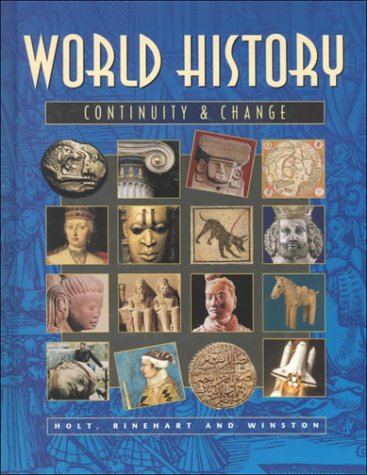 9780030524523: Pe World Hist: Cont and Change Rev Ed 99