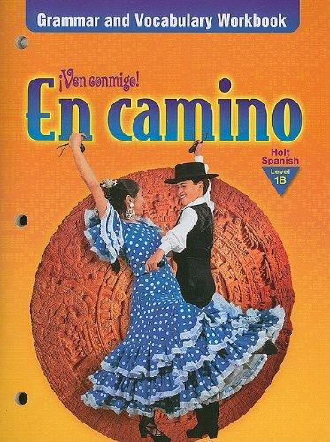 9780030524790: En Camino: Grammar and Vocabulary Workbook