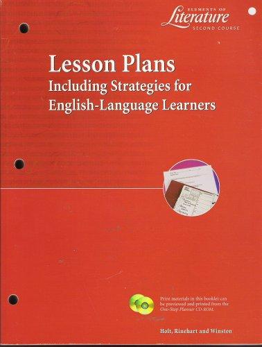 9780030524981: Lesson Plans Eol 2000 G 8