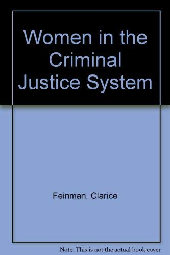 9780030525667: Women in the Criminal Justice System