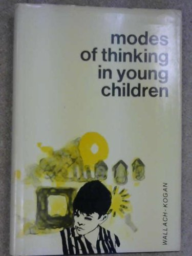 9780030525957: Modes of Thinking in Young Children