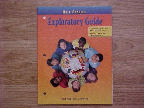 9780030526589: Exploratory Guide Ven Conmigo! Spanish 99 MS (English and Spanish Edition)