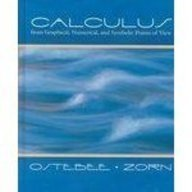 9780030526596: Calculus: From Graphical, Numerical, and Symbolic Points of View