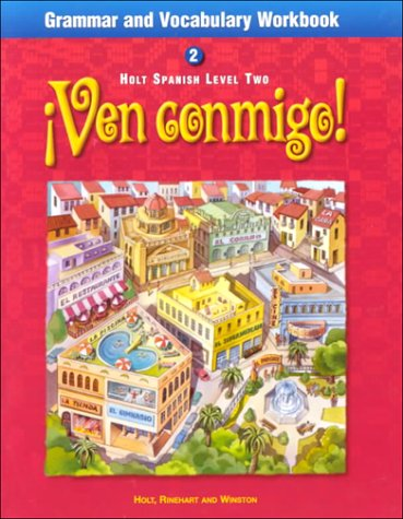 9780030527081: Ven Conmigo Grammar and Vocabulary: Level 2 (Holt Spanish: Level 2)