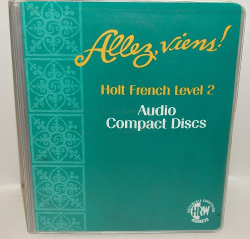 9780030527685: Holt French Level 2 Allez, Viens! Audio Compact Discs (Set of 12 Cds)