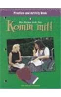 9780030529184: Komm mit!: Practice and Activity Book Level 2