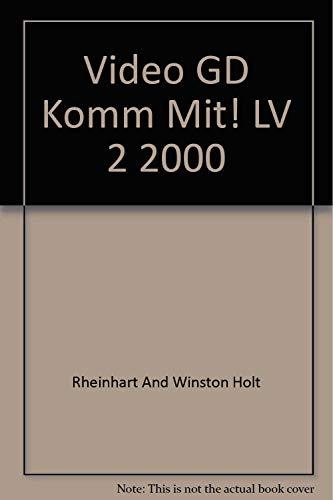 9780030529337: Video GD Komm Mit! LV 2 2000