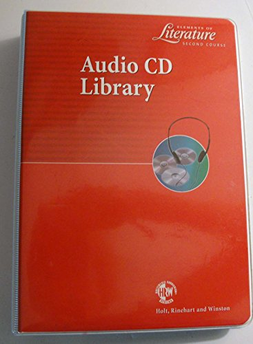 9780030530487: Audio CD LIbrary: Elements of Literature, Second Course