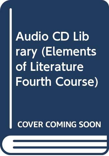 9780030530524: Audio CD Library (Elements of Literature Fourth Course)