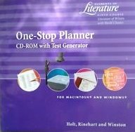 9780030530784: Elements of Literature Third Course One Stop Planner With Test Generator