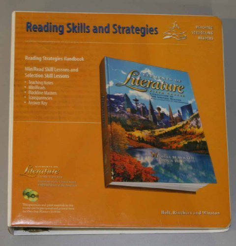 9780030531231: Elements of Literature: Fifth Course: Reading Skills and Strategies: Reaching Struggling Readers (Literature)