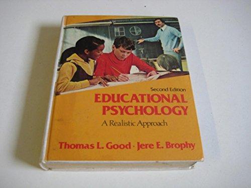9780030531910: Educational Psychology