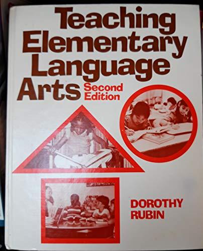 9780030532368: Teaching Elementary Language Arts