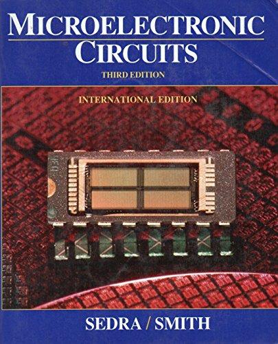 Microelectronic Circuits: K. C. Smith;