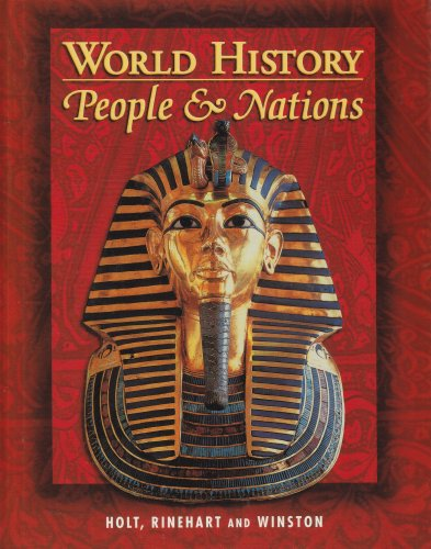 9780030533594: Holt World History: People and a Nation: Student Edition Grades 9-12 2000