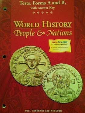 World History-People And Nations: Tests, Forms A And B With Answer Key (1999 Copyright): Staff